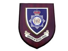 MOD Police Ministry of Defence Service Constabulary Wall Plaque UK Made for MOD