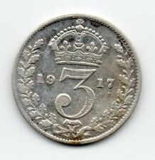 Great Britain - Engeland - 3 Pence 1917