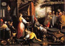Originale künstlerische Öl-Malerei mit religiösem & biblischem Motiv als Original der Zeit