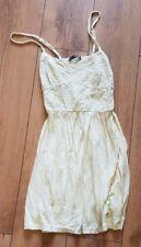 Ladies 'ATMOSPHERE' Yellow sleeveless dress. Size 14. vgc.