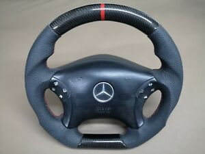 Mercedes Benz REAL Carbon covered SL500 Steering Wheel AMG style