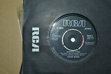"""DAVID BOWIE    ALABAMA SONG / SPACE ODDITY   7"""" SINGLE     RCA RECORDS   BOW 5"""