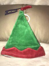 NWT Cherokee Christmas Holiday Elf Santa Claus Baby Hat Unisex Sz 0/3 Months