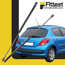 Molle a Gas Portellone Pistoncini Cofano Posteriore Peugeot 207 Berlina 2 Volumi