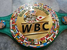 WBC 3D Boxing Championship Belt full size/ WBC 3D Design with any 4 pictures