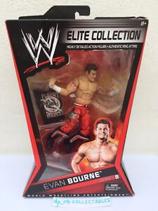 WWE Boxed Elite Collection Series 8 Evan Bourne Wrestling Action Figure Mattel