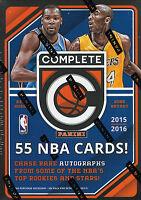 2015 2016 Panini COMPLETE NBA Basketball Blaster Box Packs Chance Rare Autograph