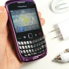 Blackberry Curve 9330 (Sprint) Purple QWERTY Phone - GPS, WIFI DATA, 2MP Camera,