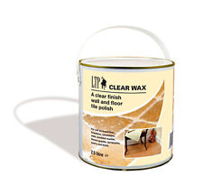 LTP Clear Bees Wax 2.5 Litre Terracotta Travertine Slate Stone Marble Wood