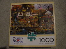 Charles Wysocki Olde Buck'S County 1000 piece jigsaw puzzle store Fall/Autumn