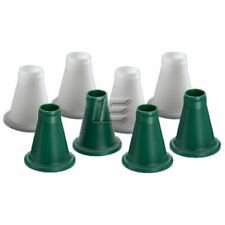 New set of 4 Green push fit plastic legs/feet for the Ascot Poultry Feeder