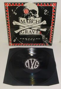 MARCH TO THE GRAVE TEMPTING FATE 1990 Def Is Not The End UK 1st PRESS LP