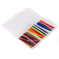170Pcs Electrical Cable Heat Shrink Tube Tubing Sleeving Wrap Wire Cable Kit