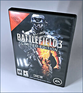 Battlefield 3 Limited Edition PC DVD-ROM - 2 Disc Set - Complete - Open Box