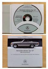 Werkstatthandbuch WIS Mercedes SL / SLC  R / C 107  R107  C107   280 - 560 SL C