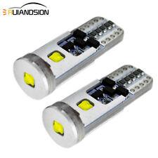 2 un. T10 W5W 501 AC 12-24V 15W BLANCO CREE CANBUS Luz lateral Bombillas LED de alta potencia