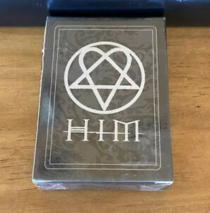 His Infernal Majesty HIM Heartagram Playing Cards New Sealed