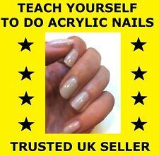 D067 Teach Yourself How To Do Acrylic Nails - Instructional DVD