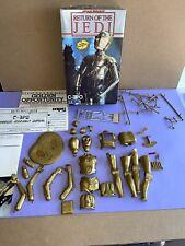 Star Wars MPC C-3PO Model Kit Return of The Jedi 1983 Complete W/ Box