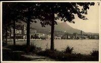 Gardone Lago di Garda Italien s/w AK 1929 Gardasee Blick vom Ufer auf die Stadt