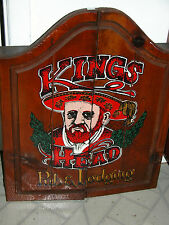 GREAT VINTAGE KINGS HEAD PUB & LODGING-HENRY VIII-DART BOARD GAME WITH DARTS