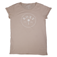 Roxy Girl's Pastel Pink Palm Tree S/S T-Shirt (S03)