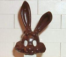 LEGO - Minifig, Headgear / Cover, Rabbit w/ Long Ears - Brown (Nestle Rabbit)