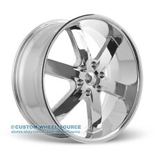"""20"""" U2 55 Chrome Wheel and Tire Package for Cadillac Chevy Chevrolet"""