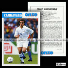 CANNAVARO FABIO (PARMA FC) - Fiche Football / Calcio 1999