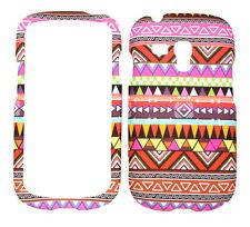 Tribal Design Rubberized Case for Samsung Galaxy S3 Mini i8190
