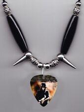 Motley Crue Mick Mars Photo Guitar Pick Necklace