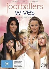 Footballers Wives : Series 5 (DVD, 2010, 3-Disc Set) R-4, LIKE NEW, FREE POSTAGE