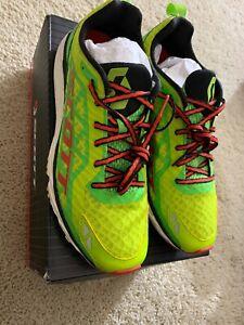 Scott Race Rocker 2.0 Running Shoe Size 8.5 New in Box Green/Red
