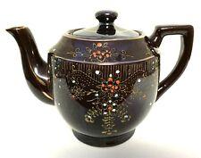 Japan Redware Brown Betty Teapot Vintage Ceramic Tea Pot 5.75 inches Tall
