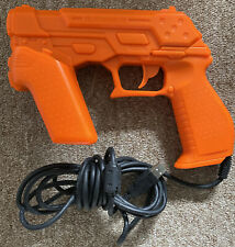 Namco NC-109 Light Gun Zapper Orange with Sensors for Sony Playstation 3 (PS3)