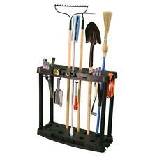 Freestanding Shelving Unit Garage Tools Holder Storage Indoor Outdoor Wall Mount