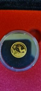 Christmas 2020 24-carat Lapland Gold Coin - Limited Edition