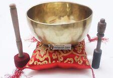 """9"""" Master healing singing bowl plain set - meditation bowl"""