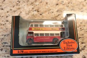 Exclusive First Editions Diecast London Transport 26204 Guy Arab I Utility bus