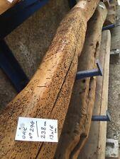 RECLAIMED & RESTORED OAK BEAM (No 294) SHELF / TIMBER / FIREPLACE MANTLE (230cm)