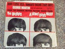 "GEORGE MARTIN U.K. 7"" W PICTURE SLEEVE  FROM AHDA NIGHT RARE"