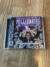 Who Wants to Be a Millionaire: 2nd Edition (Sony PlayStation 1, 2000) Ps1 P1