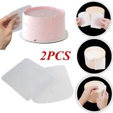 Cake Smoother Plastic Cream Fondant Scraper Baking Pastry Spatulas Set Plastic