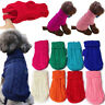 Winter Dog Clothes Puppy Pet Cat Sweater Jacket Coat For Small Dogs Chihuahua UA