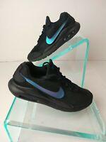 Girls Kids Youth Nike Air Max Oketo AR7419 001 Black Blue Sneakers. Sz 4Y.  #878