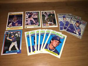 Ryne Sandberg Lot Of 13 Baseball Cards Chicago Cubs Fleer Upper Deck Topps