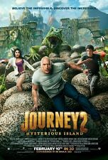 POSTER JOURNEY 2 THE MYSTERIOUS ISLAND VIAGGIO NELL'ISOLA MISTERIOSA THE ROCK #1
