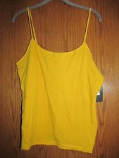 Liz Claiborne Cami with adjustable straps and bra insert