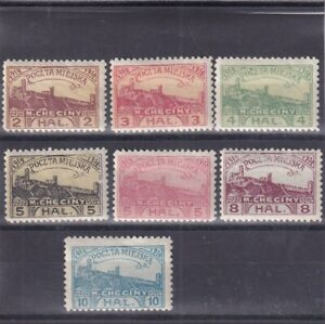 0239  Poland MH nice lot private stamps see scan