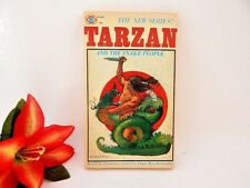 Tarzan and the Snake People Book RARE Unauthorized Gold Star Tarzan Series 1964